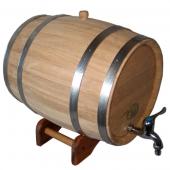 Бочонок дубовый 15 литров НЖ
