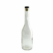 Бутыль Коньячная 0,5 л с пробкой (12 шт.)
