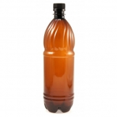 Бутылка ПЭТ темная 1 л 12 шт