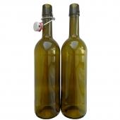 Бутылка винная с бугельной пробкой 0,75 л (12 шт.)