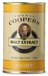 Солодовый экстракт Coopers Light Malt 1,5 кг
