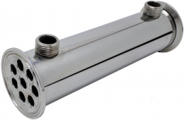 "Дефлегматор LUXSTAHL, 8 трубок ∅12 мм, кламп 2"", 20 см"