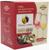 """Набор для приготовления домашнего вина Beervingem """"Дикая слива"""" на 13,5 л"""