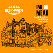 Дрожжи для медовухи Beervingem Mead BVG-08, 10 г