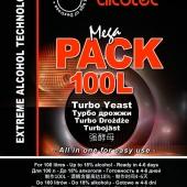 Дрожжи спиртовые Alcotec 24 Turbo MegaPack 360 гр