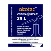 Дрожжи спиртовые Alcotec VodkaStar Turbo 66 гр