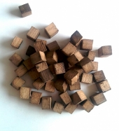 Дубовые кубики для настаивания (сильный обжиг), 50 гр