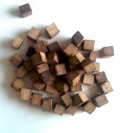 Дубовые кубики для настаивания (сильный обжиг), 100 гр