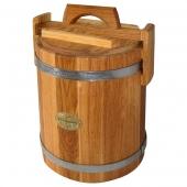 Кадка дубовая 10 литров НЖ