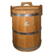 Кадка дубовая 30 литров НЖ