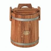 Кадка дубовая 5 литров