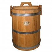 Кадка дубовая 50 литров НЖ