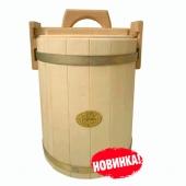 Кадка осиновая 15 литров