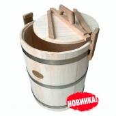 Кадка осиновая 30 литров НЖ