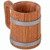 Кружка дубовая 0,5 литра
