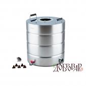 Перегонный куб Добровар 51 л ТЭН-Р-версия (без крышки)