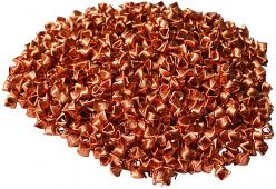 Спирально-призматическая насадка (СПН), медная (3.5-3.5), 1 литр