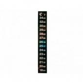 Термометр жидкокристаллический 18-34