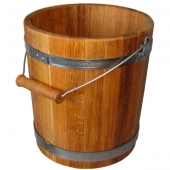 Ведро дубовое 10 литров