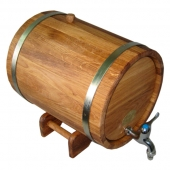 Жбан дубовый 15 литров НП