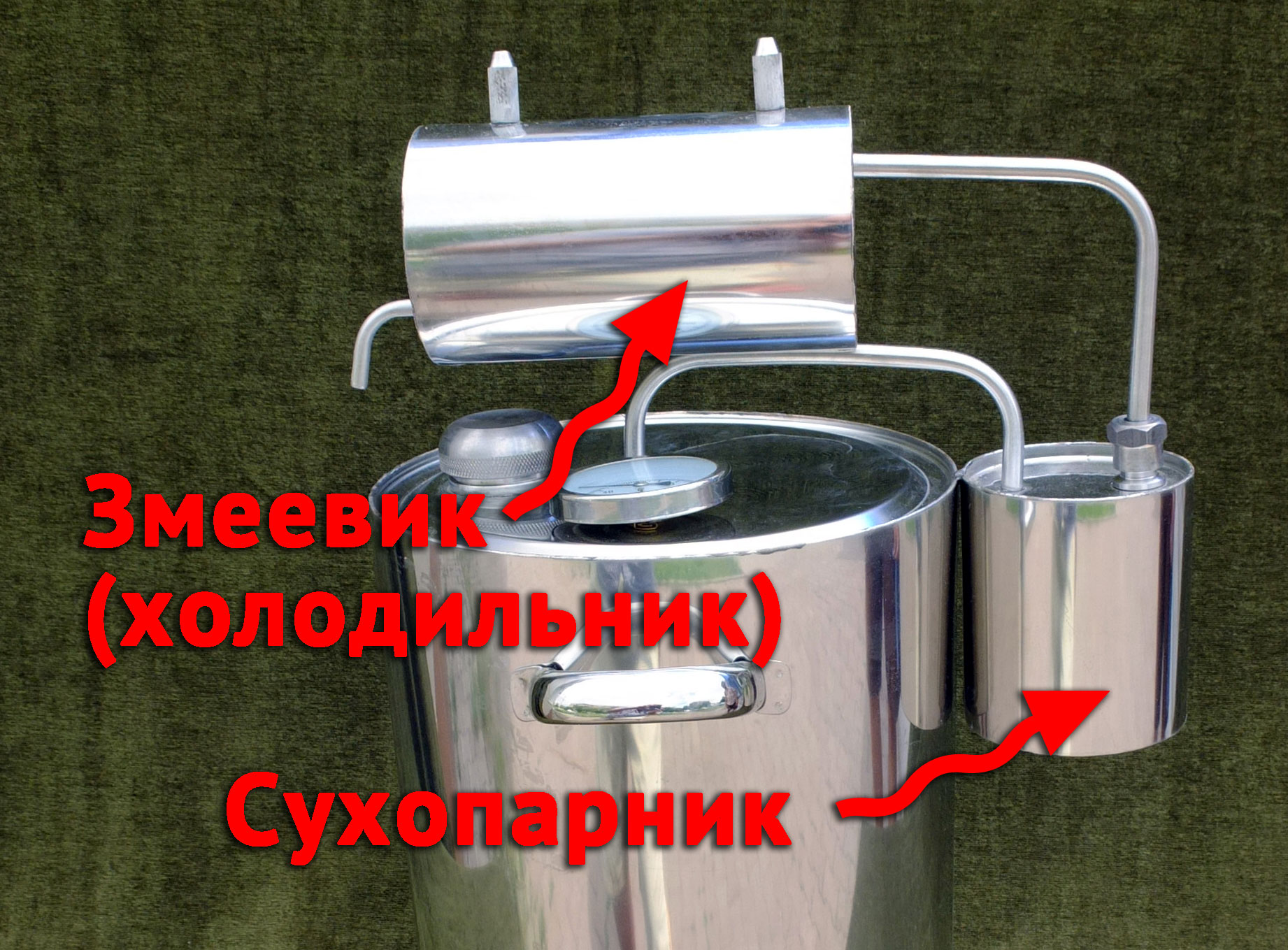 Изготовление дистиллятора своими руками